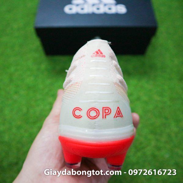 Giay bong da khong day Adidas Copa 19+ mau trang sua 2019 (8)