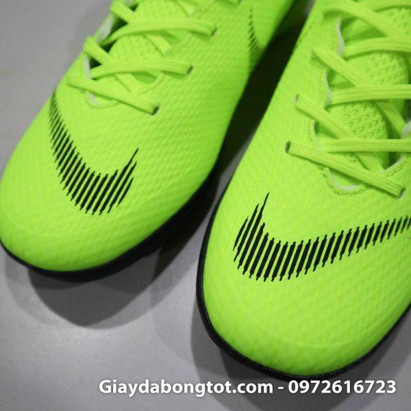 Giay da banh san co nhan tao Nike Mercurial mau xanh non chuoi TF (5)