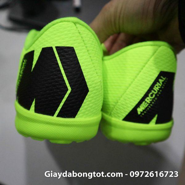 Giay da banh san co nhan tao Nike Mercurial mau xanh non chuoi TF (6)