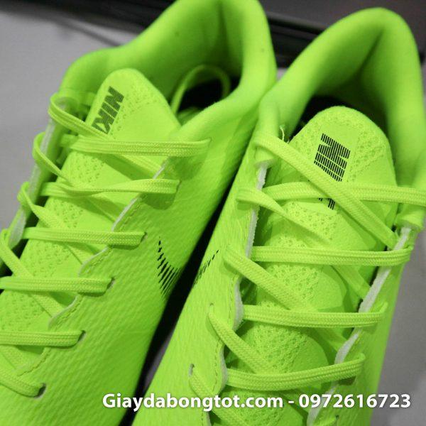 Giay da banh san co nhan tao Nike Mercurial mau xanh non chuoi TF (7)