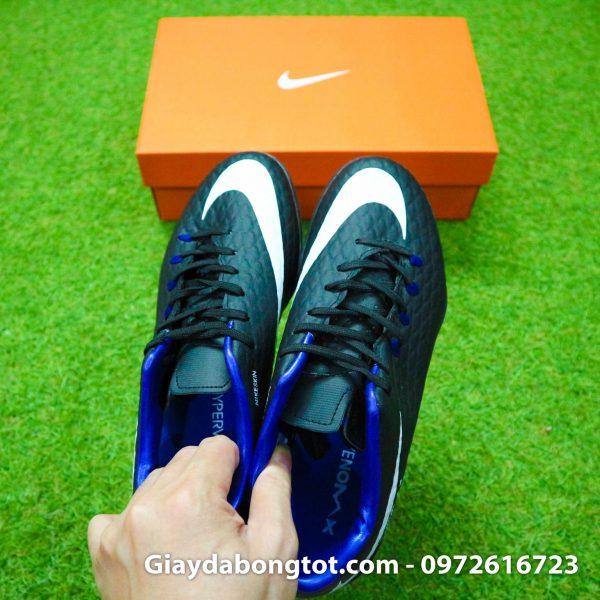 Giay san co nhan tao Nike Hypervenom Phelon 3 TF mau den (1)