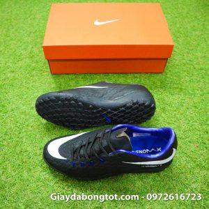 Giay san co nhan tao Nike Hypervenom Phelon 3 TF mau den (2)