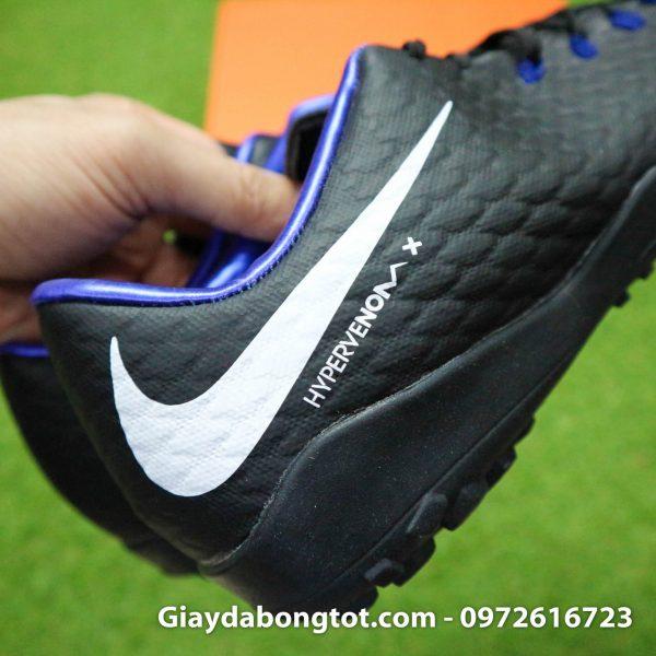 Giay san co nhan tao Nike Hypervenom Phelon 3 TF mau den (7)