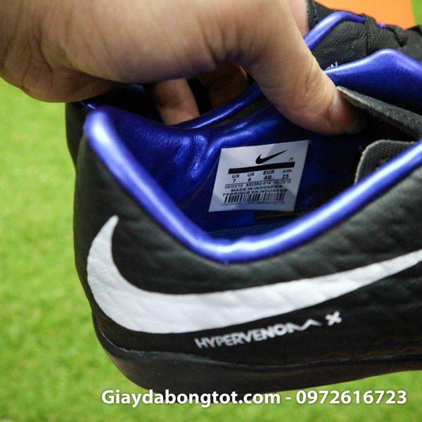 Giay san co nhan tao Nike Hypervenom Phelon 3 TF mau den (9)