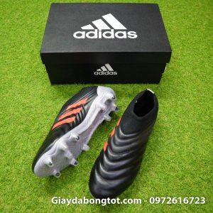 Giay da banh Adidas khong day Copa 19+ FG mau den (2)