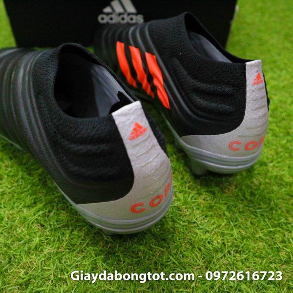 Giay da banh Adidas khong day Copa 19+ FG mau den (4)