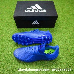Giay da banh san co nhan tao Adidas X18.3 AG xanh duong dam (2)