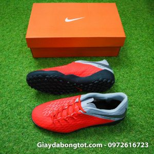 Giay da banh san co nhan tao Nike Hypervenom Phelon 3 TF cam xam 2019 (2)