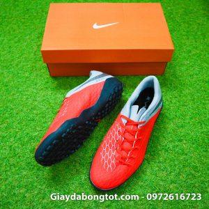 Giay da banh san co nhan tao Nike Hypervenom Phelon 3 TF cam xam 2019 (8)