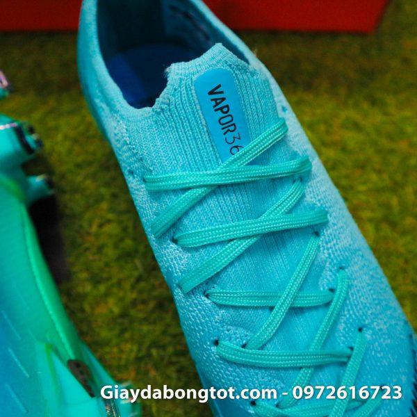 Giay da bong da vai Nike Mercurial Vapor 360 FG mau xanh ngoc 2019 (1)