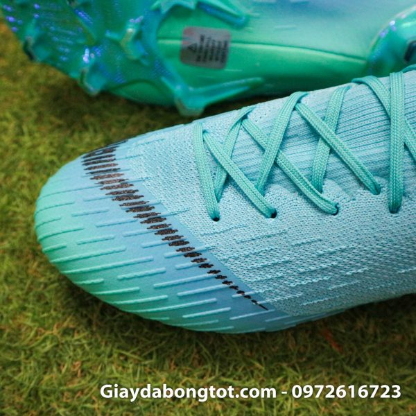 Giay da bong da vai Nike Mercurial Vapor 360 FG mau xanh ngoc 2019 (3)