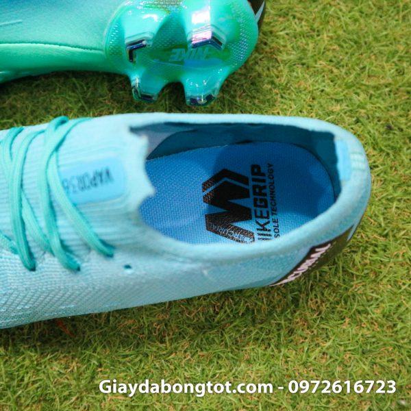 Giay da bong da vai Nike Mercurial Vapor 360 FG mau xanh ngoc 2019 (4)