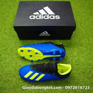 Giay da bong tre em dinh cao Adidas X18.3 FG mau xanh duong size 35 36 37 38 (2)