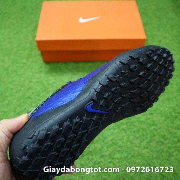 Giay dinh dam TF Nike Hypervenom Phelon 3 TF xanh duong den 2019 (1)