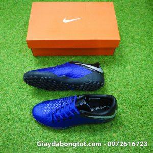 Giay dinh dam TF Nike Hypervenom Phelon 3 TF xanh duong den 2019 (2)