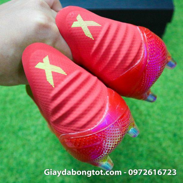 Giay khong day Adidas X 18+ FG mau do moi nhat 2019 (8)
