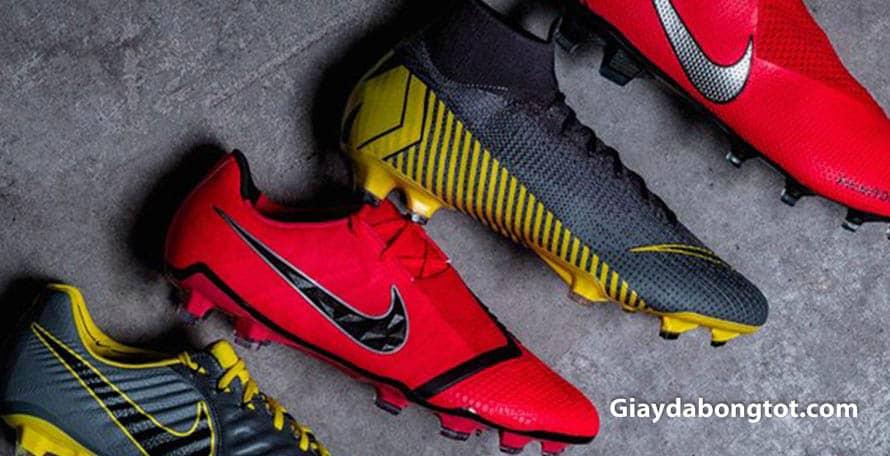 Phân loại các loại giày đá bóng sân cỏ khác nhau