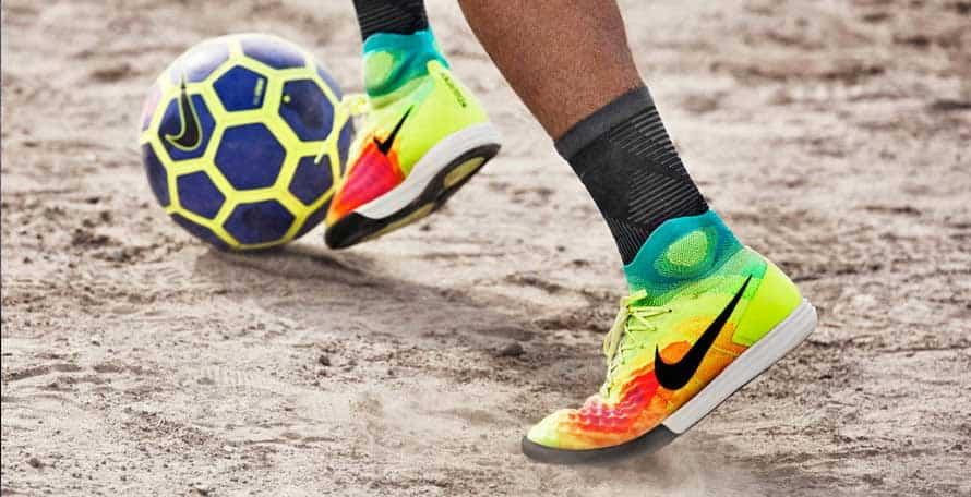 Giày đá bóng đinh dăm TF sân cỏ nhân tạo cổ cao