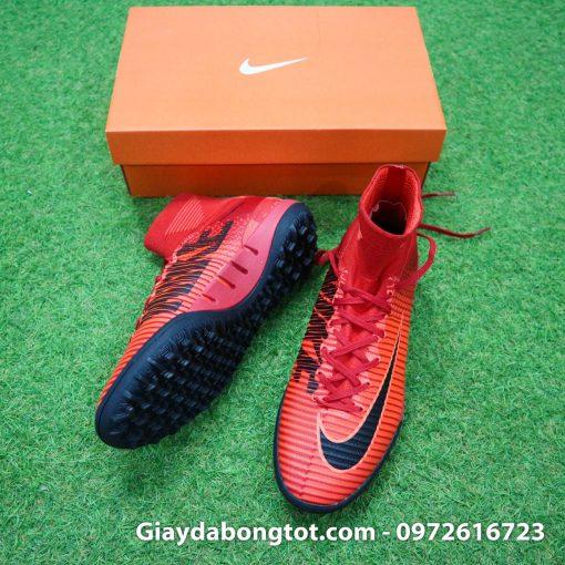 Giày đá bóng Nike cao cổ Mercurial X Proximo TF màu Lửa Đỏ (Lửa và Băng) (3)