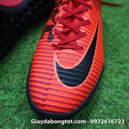 Giày đá bóng Nike cao cổ Mercurial X Proximo TF màu Lửa Đỏ (Lửa và Băng) (5)
