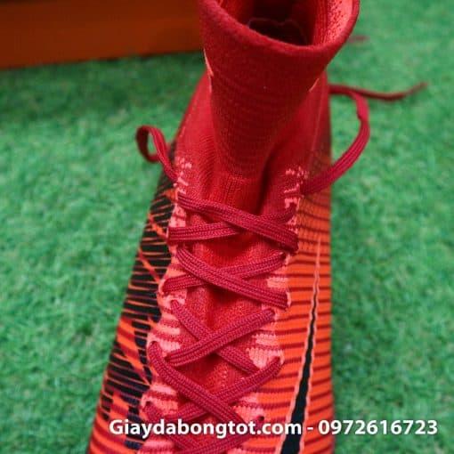 Giày đá bóng Nike cao cổ Mercurial X Proximo TF màu Lửa Đỏ (Lửa và Băng) (6)