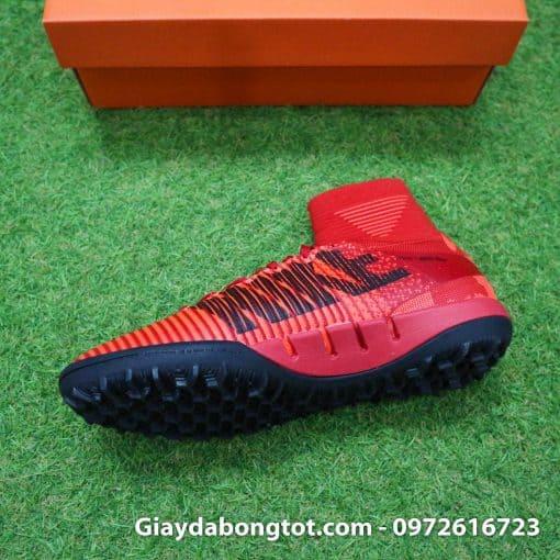 Giày đá bóng Nike cao cổ Mercurial X Proximo TF màu Lửa Đỏ (Lửa và Băng) (7)