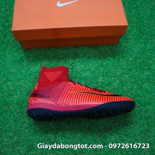 Giày đá bóng Nike cao cổ Mercurial X Proximo TF màu Lửa Đỏ (Lửa và Băng) (8)