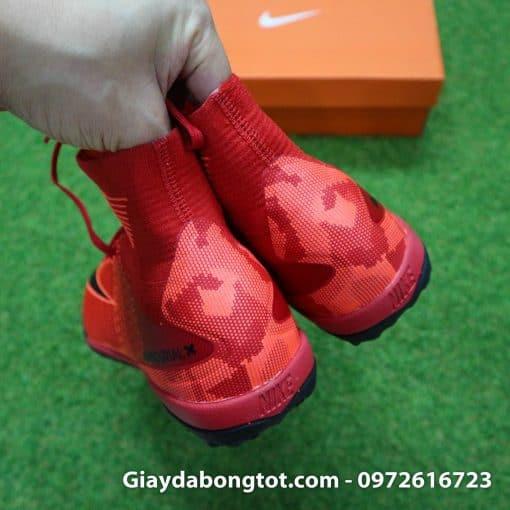 Giày đá bóng Nike cao cổ Mercurial X Proximo TF màu Lửa Đỏ (Lửa và Băng) (9)