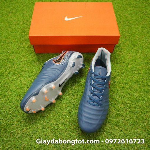 Giày đá bóng hợp chân bè Nike Tiempo FG màu xám ghi mới 2019 (3)