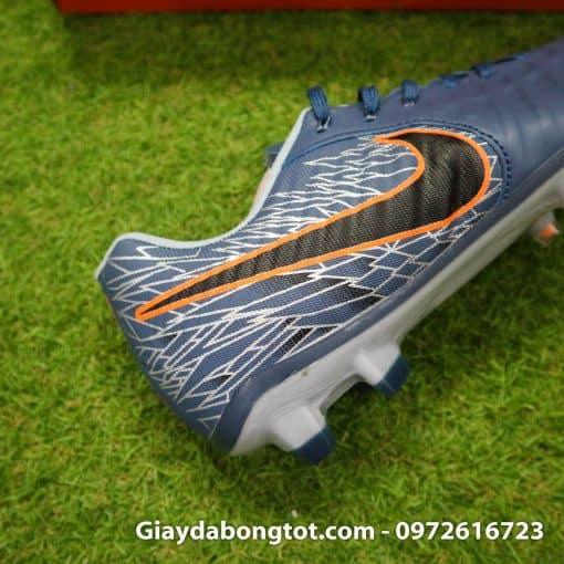 Giày đá bóng hợp chân bè Nike Tiempo FG màu xám ghi mới 2019 (8)