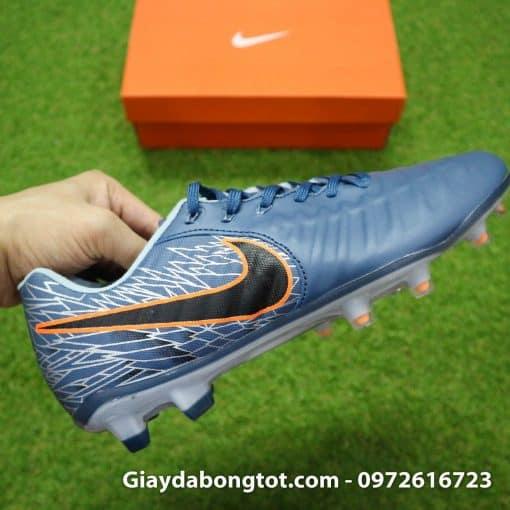 Giày đá bóng hợp chân bè Nike Tiempo FG màu xám ghi mới 2019 (9)