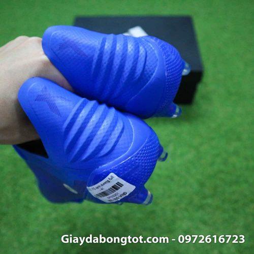 Giày đá bóng nhẹ Adidas X18.1 FG Xanh Dương full (1)