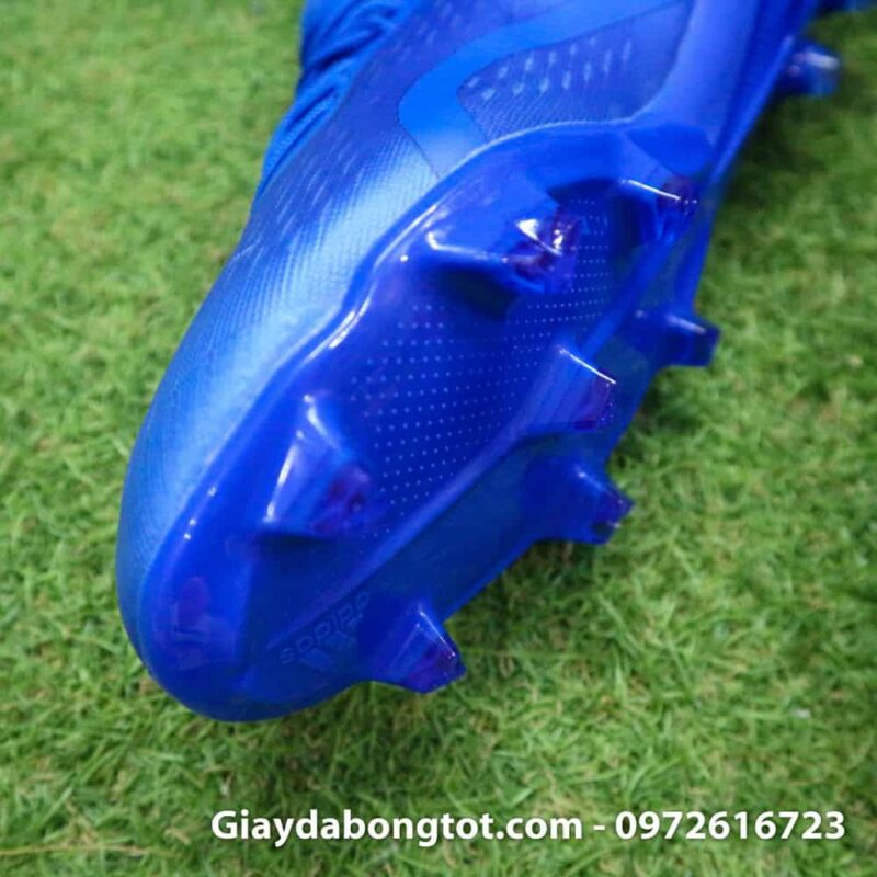 Giày đá bóng nhẹ Adidas X18.1 FG Xanh Dương full (4)