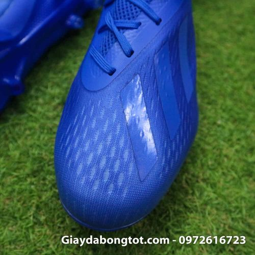 Giày đá bóng nhẹ Adidas X18.1 FG Xanh Dương full (5)