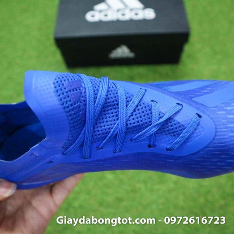 Giày đá bóng nhẹ Adidas X18.1 FG Xanh Dương full (6)
