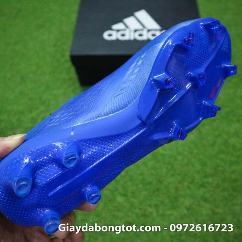 Giày đá bóng nhẹ Adidas X18.1 FG Xanh Dương full (7)