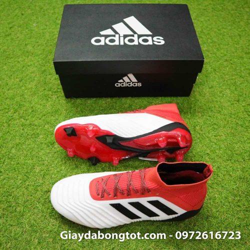 Giày đá banh Adidas Predator 18.1 FG trắng đỏ U23 Việt Nam (2)