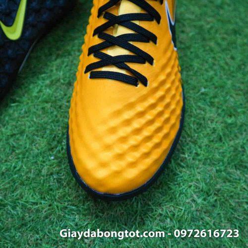 Giày cho chân bè Nike Magista X TF vàng đen Quang Hải (5)