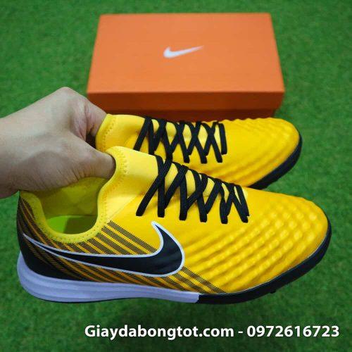 Giày cho chân bè Nike Magista X TF vàng đen Quang Hải (6)