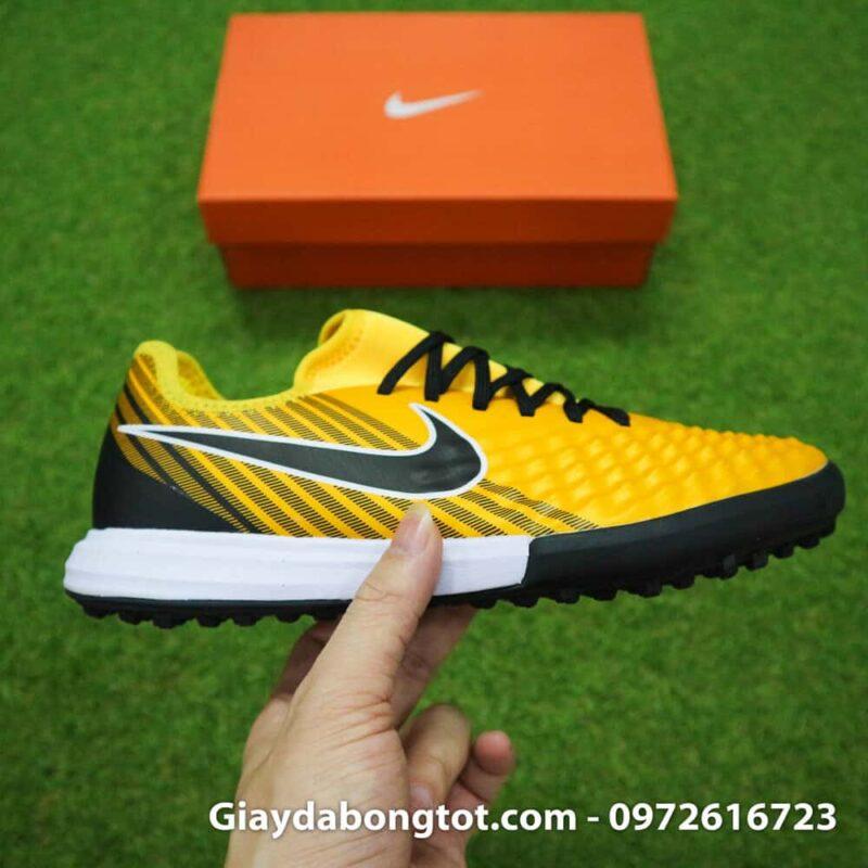 Giày cho chân bè Nike Magista X TF vàng đen Quang Hải (8)