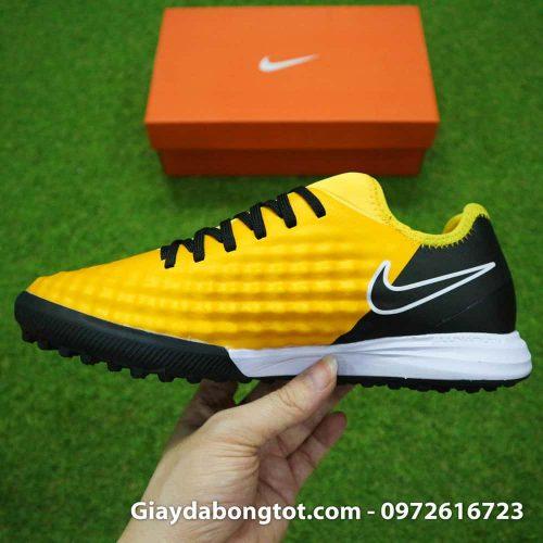 Giày cho chân bè Nike Magista X TF vàng đen Quang Hải (9)