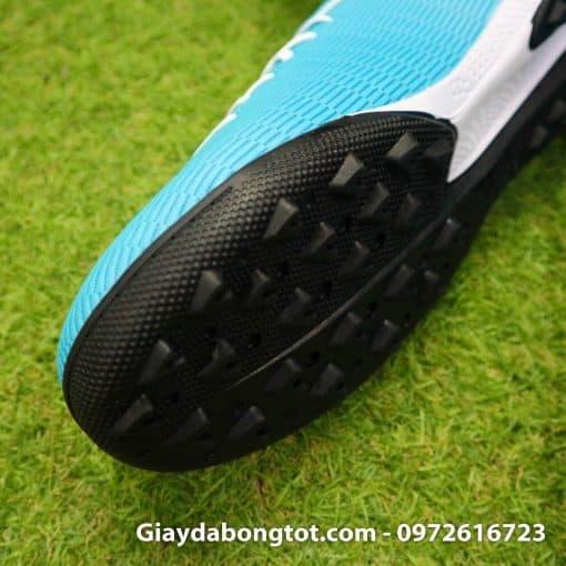 Giày sân cỏ nhân tạo Adidas X19.3 TF màu xanh dương nhạt vạch đen (4)