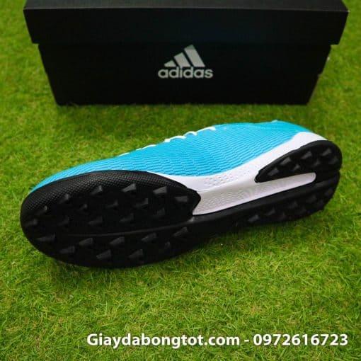 Giày sân cỏ nhân tạo Adidas X19.3 TF màu xanh dương nhạt vạch đen (5)