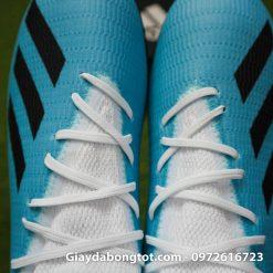 Giay bong da Adidas sieu nhe Adidas X19.3 TF trang xanh duong nhat (1)