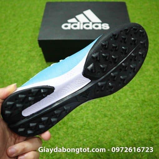Giay bong da Adidas sieu nhe Adidas X19.3 TF trang xanh duong nhat (6)
