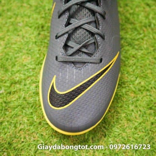 Giay bong da Nike Mercurial mau xam den 2019 moi nhat (5)