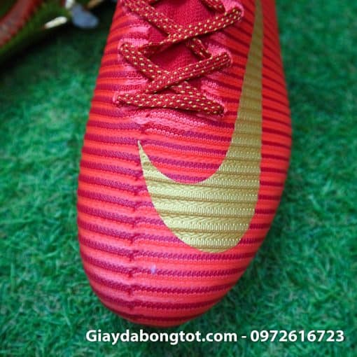 Giay bong da Nike cao co Mercurial Superfly V CR7 mau do ao dau Bo Dao Nha (4)