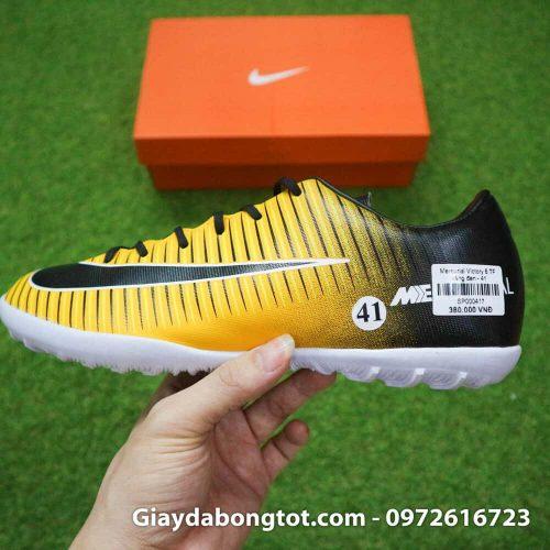 Giay bong da chan be Nike Mercurial Victory 6 TF mau vang den (1)