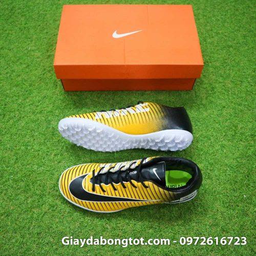 Giay bong da chan be Nike Mercurial Victory 6 TF mau vang den (2)