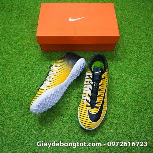 Giay bong da chan be Nike Mercurial Victory 6 TF mau vang den (3)